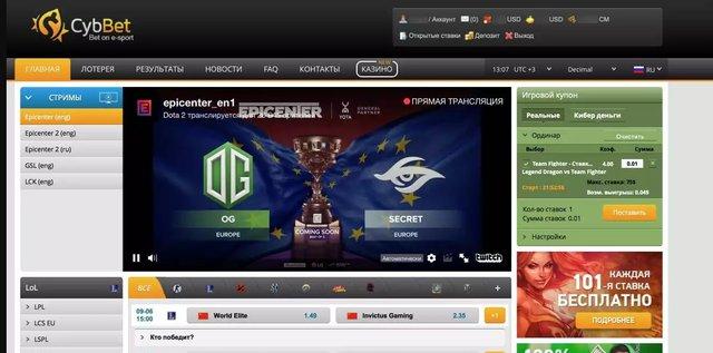 cybbet.com обзор сайта