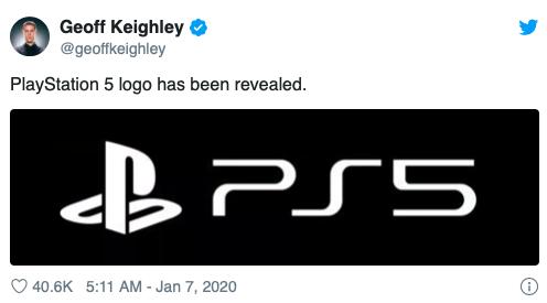 PS5 логотип