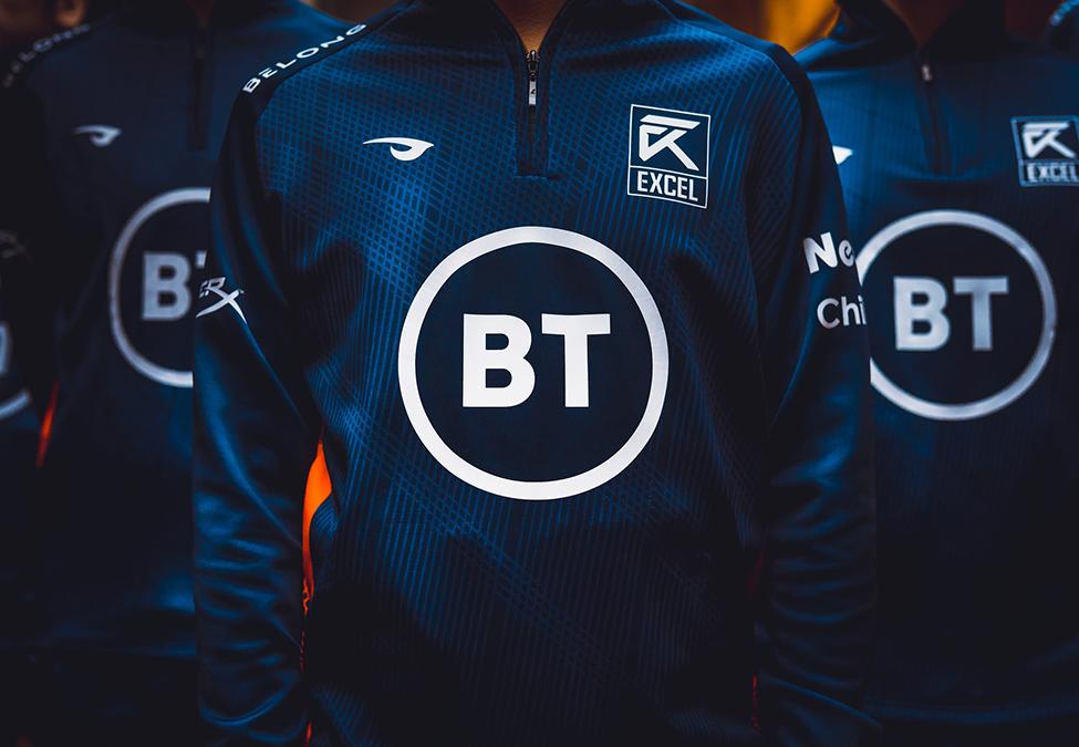 Excel Esports и BT сотрудничество